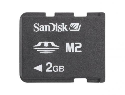 Sandisk Memory Stick Micro (M2) 2GB (55623) černá