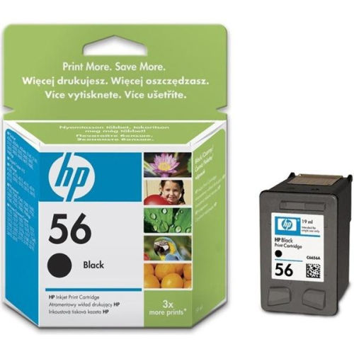 HP Deskjet No. 56, 19ml, 520 stran - originální černá