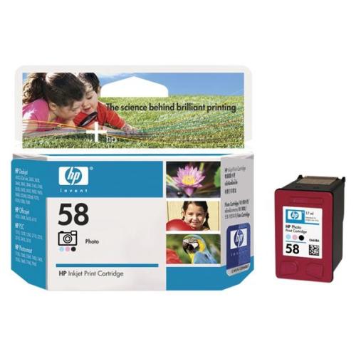 HP Deskjet No. 56, 17ml - originální černá/červená/modrá