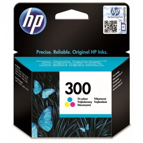 HP Deskjet No. 300, 4 ml, 165 stran - originální červená/modrá/žlutá