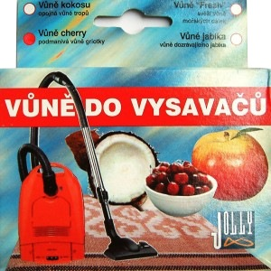 Fotografie Vůně do vysavače Dozrávající jablko 5 sáčků granulky - Jolly Jolly