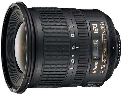 Nikon 10-24MM F3.5-4.5G AF-S DX černý