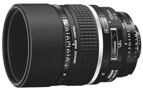 Nikon NIKKOR 105MM F2 AF DC-NIKKOR D A černý