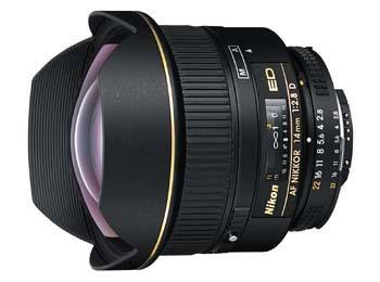 Objektiv Nikon 14MM F2.8 AF NIKKOR ED