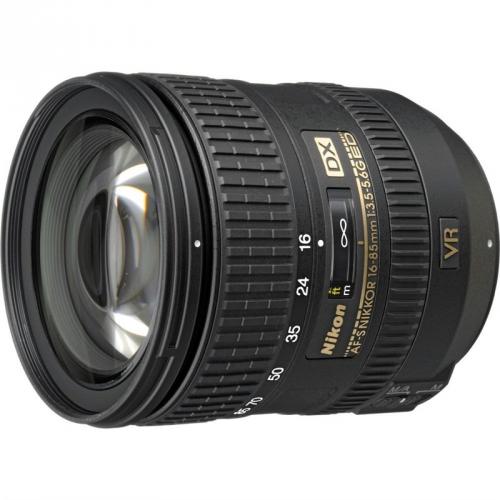 Nikon NIKKOR 16-85MM F3.5-5.6G AF-S DX VR ED černý