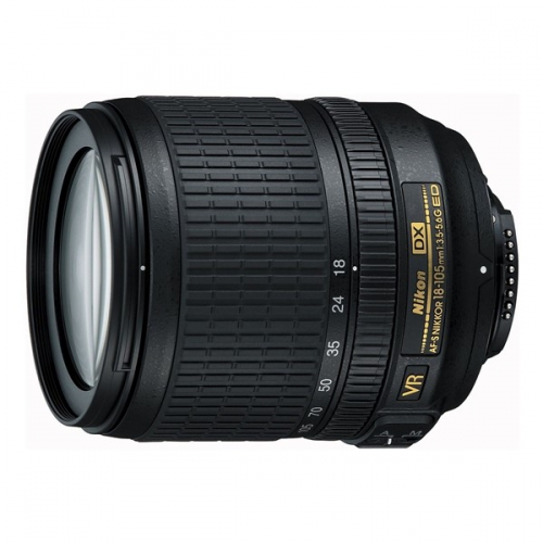 Nikon NIKKOR 18-105MM F3.5-5.6G AF-S DX VR ED černý