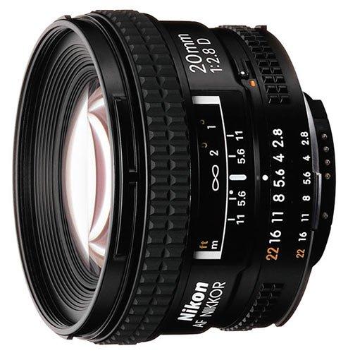 Nikon NIKKOR 20MM F2.8 AF D A černý