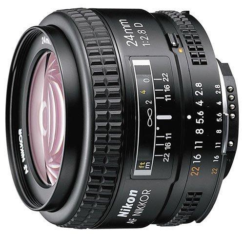 Nikon NIKKOR 24MM F2.8 AF D A černý