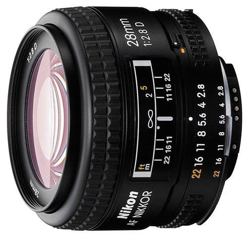 Nikon NIKKOR 28MM F2.8 AF D A černý