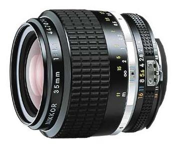 Nikon NIKKOR 35MM F1.4 NIKKOR A černý