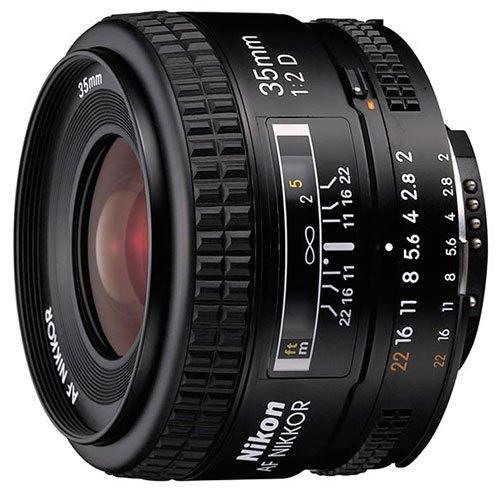 Nikon NIKKOR 35MM F2 AF D A černý