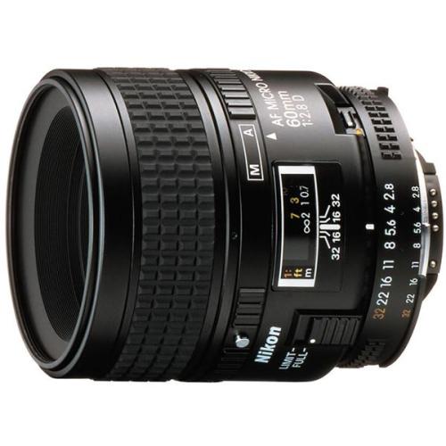Nikon NIKKOR 60MM F2.8 AF MICRO D A černý