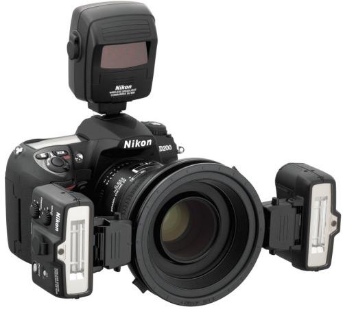 Nikon SB-R1 MAKRO ZÁBLESKOVÝ KIT (bez SU-800)(2x SB-R200, 1x SX-1, 2x SW-11, 5x SY-1, 2x SZ-1, 2x SJ-R200, 2x AS-20, 1x SG-3IR, 1x SW-C1, 1x SW-12, 2x SS-R200, 1x SS-SX1, 1x SS-MS1) černý