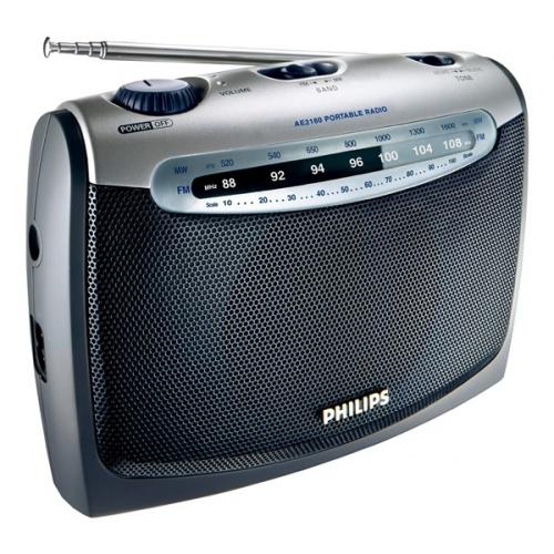 Philips Portable radio AE 2160 stříbrný
