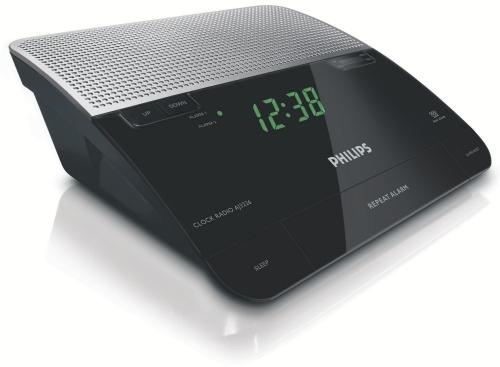 Philips Clock radio AJ 3226 černý/stříbrný