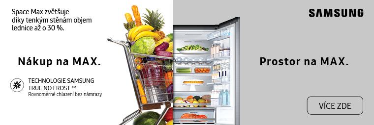 Maximalizujte svůj prostor díky chladničkám Samsung SpaceMax