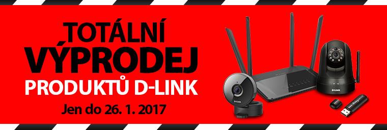 Totální výprodej produktů D-Link