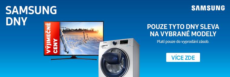 Výjimečné ceny, akční slevy – nenechte si ujít Samsung dny!