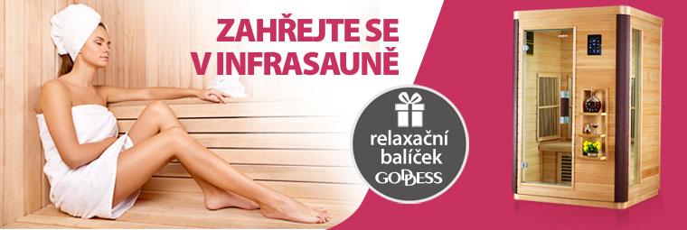 Vychutnejte si hřejivou relaxaci v infrasaunách Goddess