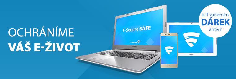 Špičkový antivir nyní jako dárek IT produktům
