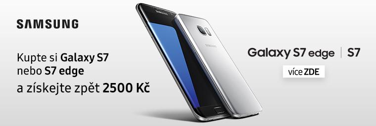 Samsung Galaxy S7 / S7 edge vám vrátí 2 500 Kč