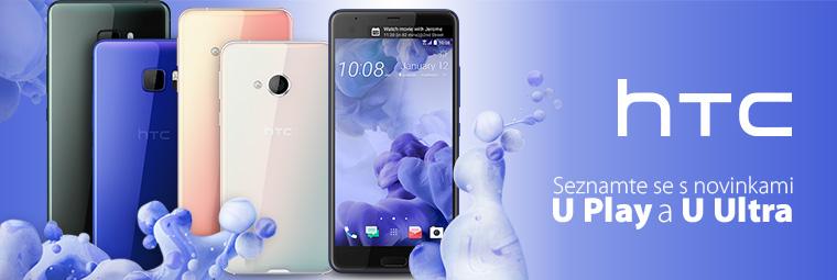 Novinky HTC U Play a HTC U Ultra – stvořeny pro vás