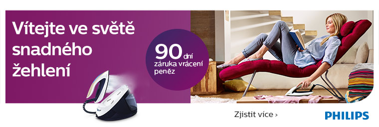Žehlete s Philips a využijte řady výhod!