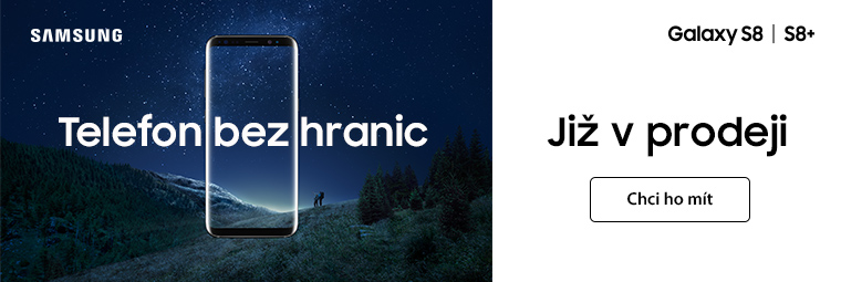 Samsung Galaxy S8 je tady