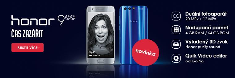 Nový Honor 9 – telefon, který miluje rychlost a zábavu
