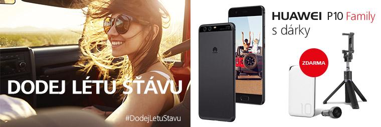 Oblíbené smartphony řady Huawei P10 s dárkem