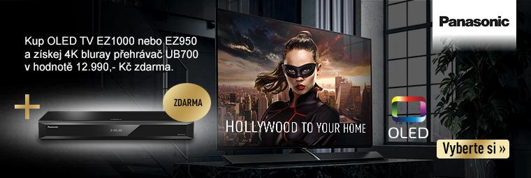 K OLED TV Panasonic dárek!