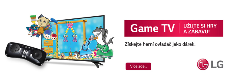 Zažijte radost ze hry. K TV LG nyní získáte 3 měsíce zábavy zdarma