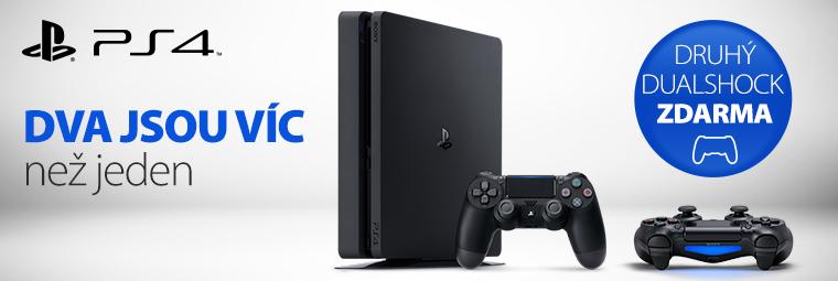 K nákupu Playstationu druhý ovladač jako dárek
