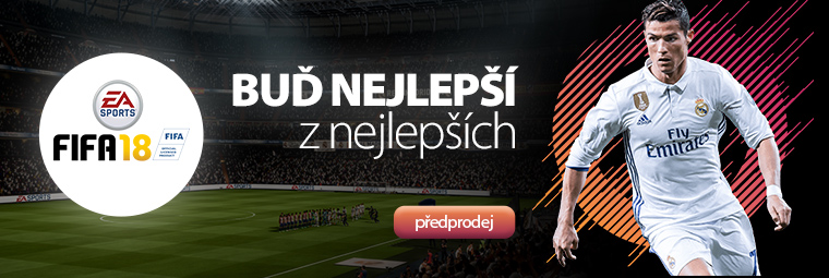 FIFA 18: nová fotbalová sezóna začíná! - PŘEDPRODEJ