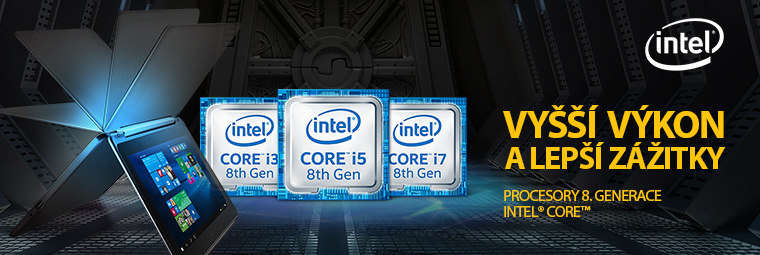 Výkon, který nemá obdoby – procesory Intel 8. generace