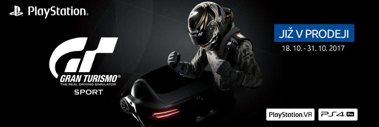 Rozjeďte to s novou hrou Gran Turismo Sport