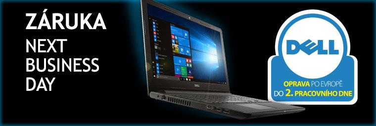 Notebooky Dell nabízí prvotřídní záruční servis