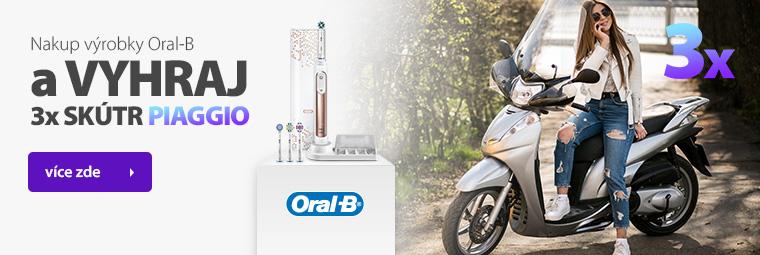 Nakup výrobky Oral-B a vyhraj 3x skútr Piaggio