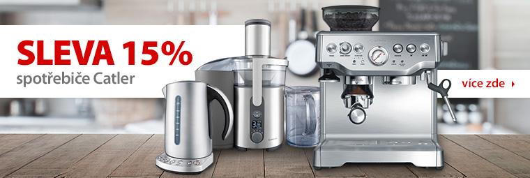 Sleva 15 % na domácí spotřebiče Catler