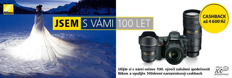 Zimní cashback Nikon – získejte zpět až 4 600 Kč