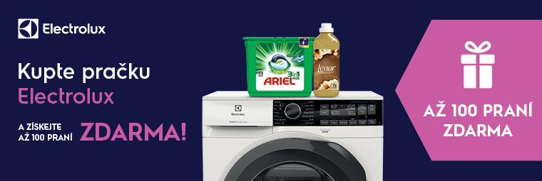 Dárek – až 100 praní zdarma