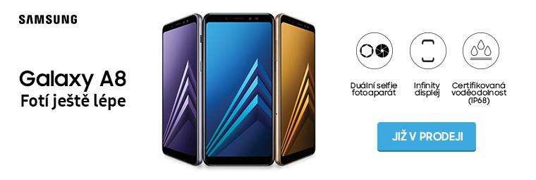 Samsung přichází s novinkou Galaxy A8 (2018). A ta stojí za to!