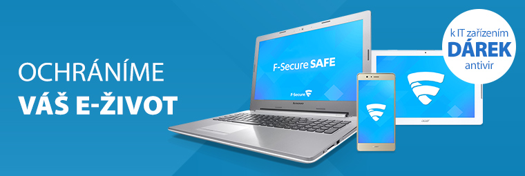 Získejte k IT produktům antivir jako dárek