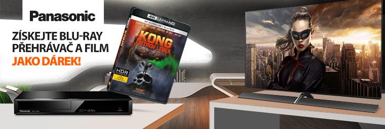 K OLED TV Panasonic 4K Blu-ray přehrávač zdarma