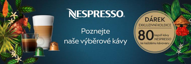 Nejlepší kávy světa zdarma ke kávovarům Nespresso