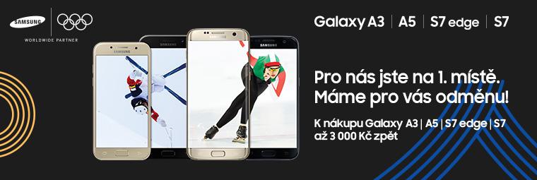 Blýskněte se mobilem Samsung a získejte až 3 000 Kč zpět!