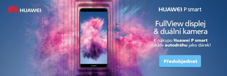 K předobjednávce Huawei P Smart skvělý dárek!