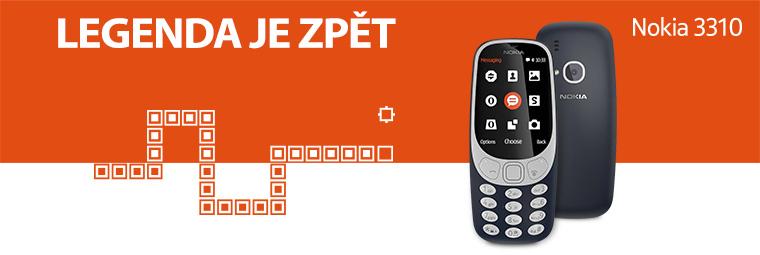 Retro zvenčí, moderní uvnitř. Nokia 3310 je zpět!