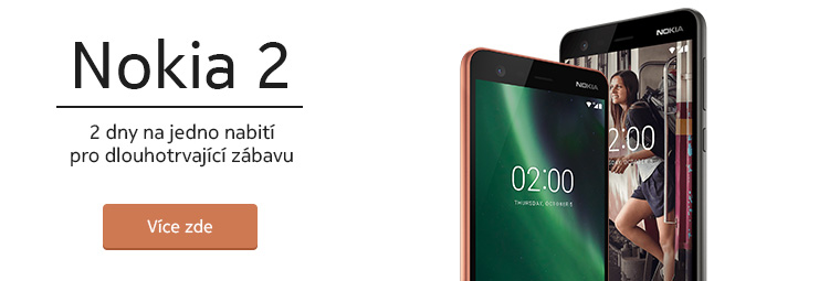Nokia 2: její předností je výdrž baterie!
