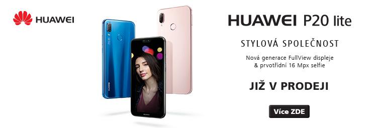Zbrusu nový Huawei P20 lite již v prodeji